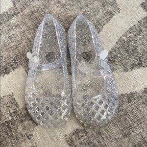 Old Navy Jellies Clear Mary Jane Size 9